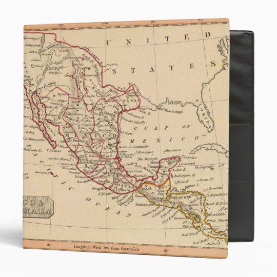 Mexico, Guatamala 3 Ring Binder