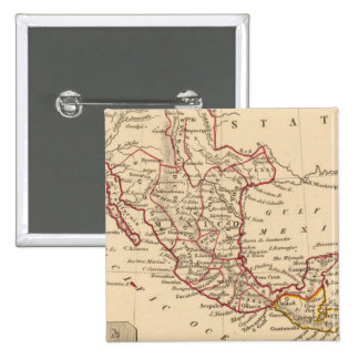Mexico, Guatamala Pinback Button