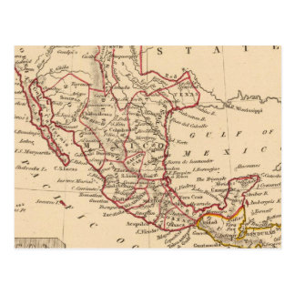 Mexico, Guatamala Postcard