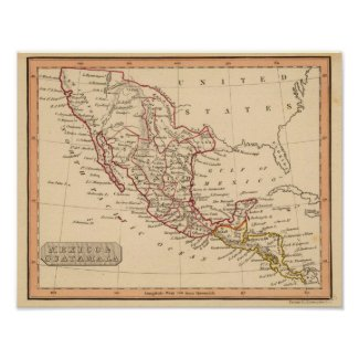 Mexico, Guatamala Posters