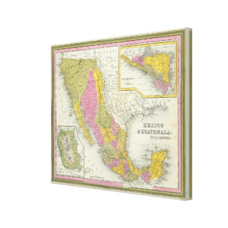 Mexico & Guatemala Canvas Print