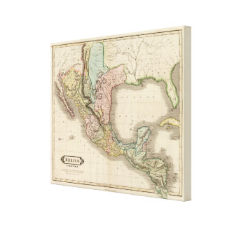 Mexico, Guatemala Canvas Print