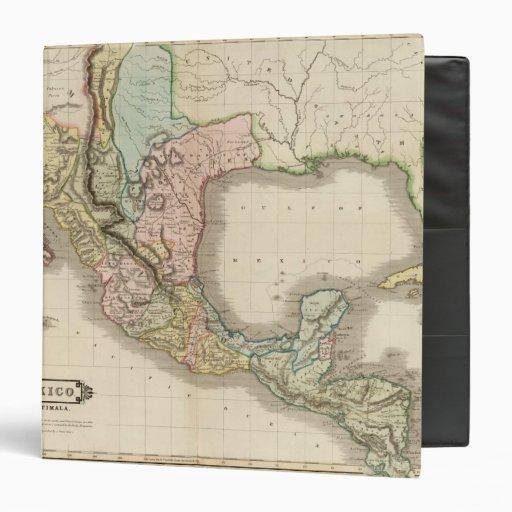 "México, Guatemala Carpeta 1 1/2"""