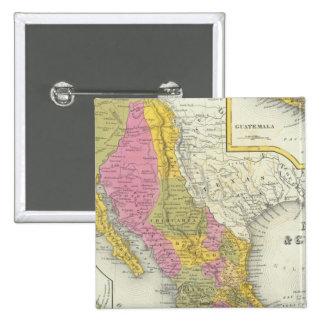 Mexico & Guatemala Pinback Button