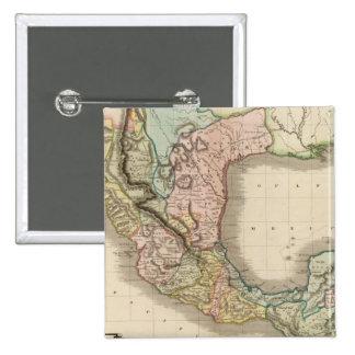 Mexico, Guatemala Pinback Button