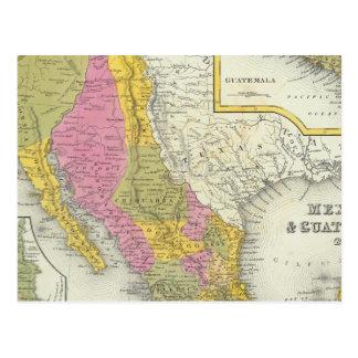 Mexico & Guatemala Postcard