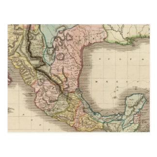 Mexico, Guatemala Postcard