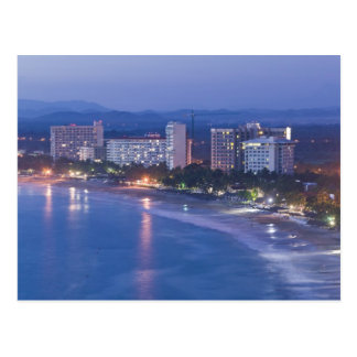 Mexico, Guerrero, Ixtapa. Ixtapa Hotels along Postcard
