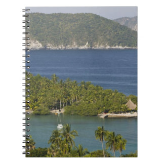 Mexico, Guerrero, Zihuatanejo. Playa Las Gatas- Notebook