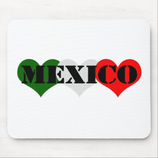 Mexico Heart Mouse Pad