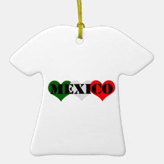 Mexico Heart Ornaments