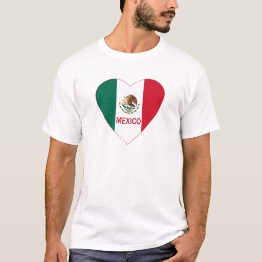 Mexico Heart T-Shirt