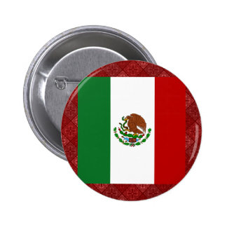 Mexico High quality Flag Pinback Buttons