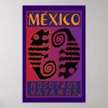 México-Impresión Póster
