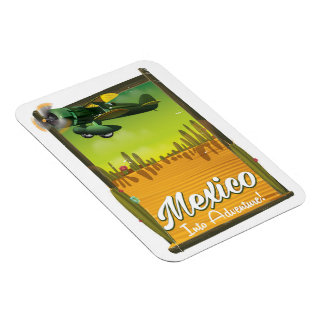 Mexico into adventure! magnet