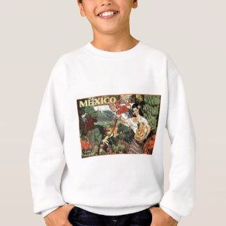 mexico land of tropical splendour sweatshirt