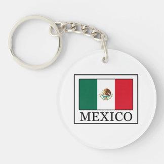 México Llavero Redondo Acrílico A Doble Cara