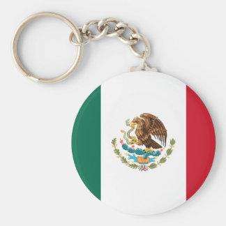 México Llavero Redondo Tipo Pin