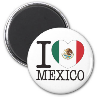 Mexico Love v2 2 Inch Round Magnet
