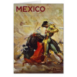 México Matador Tarjeta De Felicitación