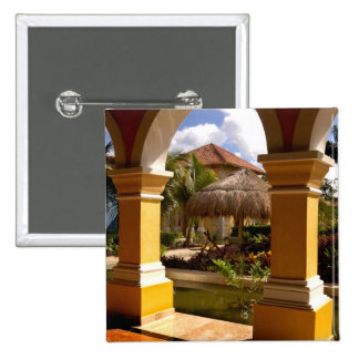 Mexico, Mayan Riviera, architecture at Iberostar Pin