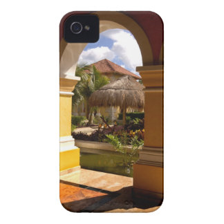 Mexico, Mayan Riviera, architecture at Iberostar iPhone 4 Case