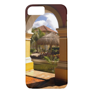 Mexico, Mayan Riviera, architecture at Iberostar iPhone 7 Case
