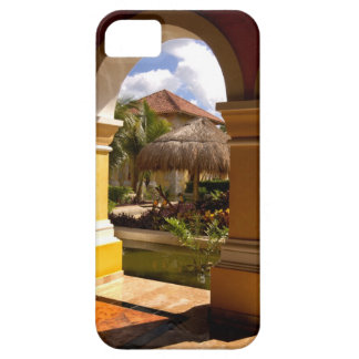 Mexico, Mayan Riviera, architecture at Iberostar iPhone SE/5/5s Case