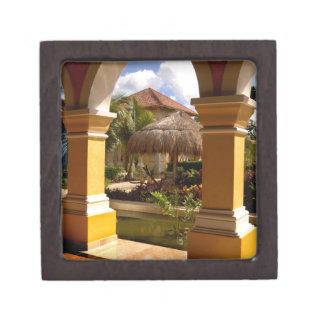 Mexico, Mayan Riviera, architecture at Iberostar Keepsake Box