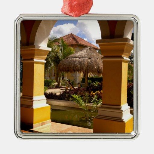 Mexico, Mayan Riviera, architecture at Iberostar Ornaments