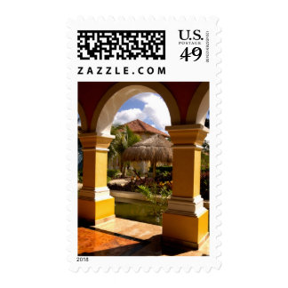 Mexico, Mayan Riviera, architecture at Iberostar Postage Stamps