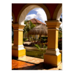 Mexico, Mayan Riviera, architecture at Iberostar Postcards