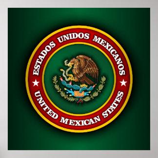 Mexico Medallion Poster
