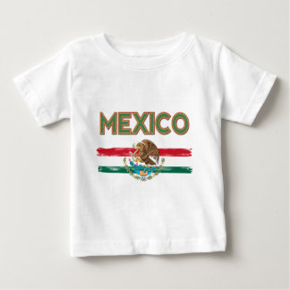 Mexico Mexican Flag Baby T-Shirt