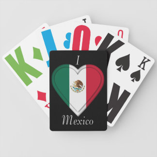 Mexico Mexican flag Bicycle Playing Cards