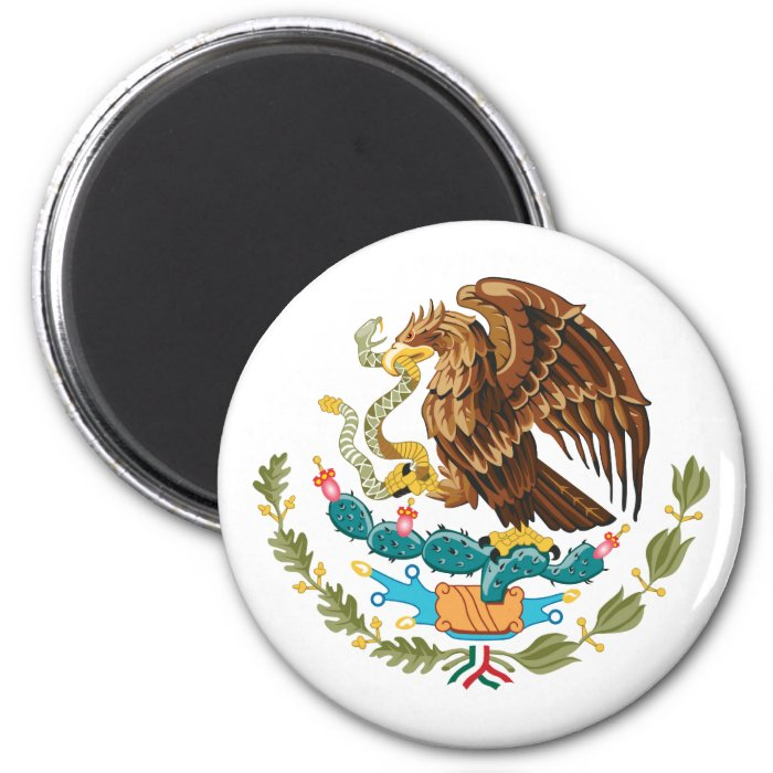 Mexico, Mexico 2 Inch Round Magnet