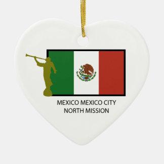 MEXICO MEXICO CITY NORTH MISSION LDS CTR CERAMIC ORNAMENT