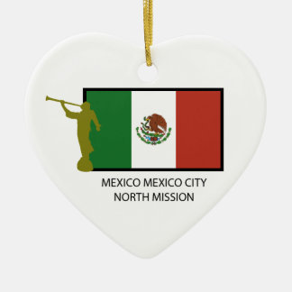 MEXICO MEXICO CITY NORTH MISSION LDS CTR CHRISTMAS TREE ORNAMENT