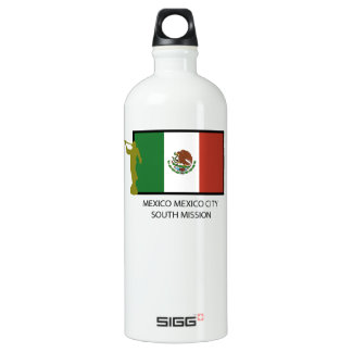 MEXICO MEXICO CITY SOUTH MISSION CTR LDS ALUMINUM WATER BOTTLE
