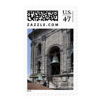 Mexico, Mexico City, Zocalo. The Bell Towers Postage Stamp
