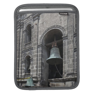 Mexico, Mexico City, Zocalo. The Bell Towers Sleeve For iPads
