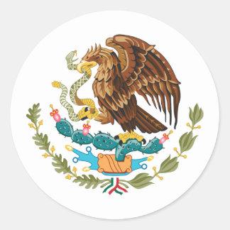 México, México Pegatina Redonda