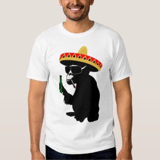 Mexico monkey tee shirt