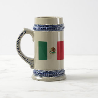 mexico 18 oz beer stein