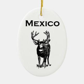 Mexico Mule Deer (ciervo mulo) Ceramic Ornament