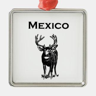 Mexico Mule Deer (ciervo mulo) Metal Ornament