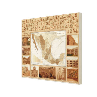 Mexico Museum Canvas Print