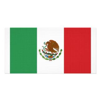 Mexico National Flag Card
