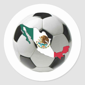 Mexico national team classic round sticker