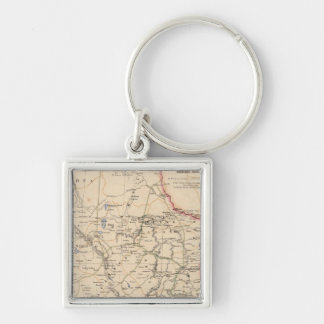 Mexico Northeastern and Central States Keychain